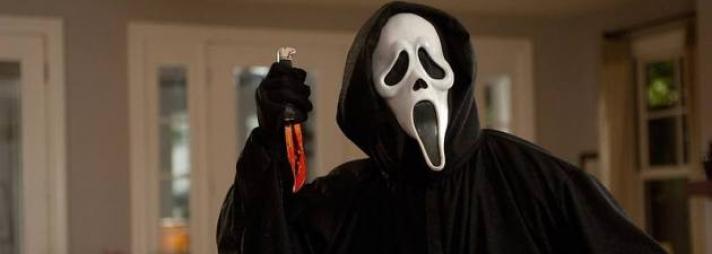 Страшная маска Крик