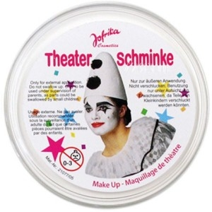 "Театральный грим ""Theater schminke"" (белый)"