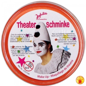 "Театральный грим ""Theater schminke"" (оранжевый)"
