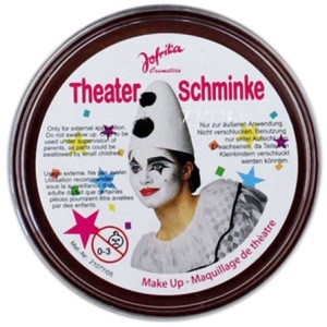 "Театральный грим ""Theater schminke"" (коричневый)"