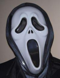 создсние маски из фильма крик